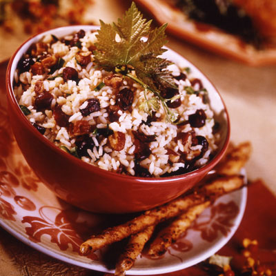 Cranberry Pecan Rice Pilaf: Main Image