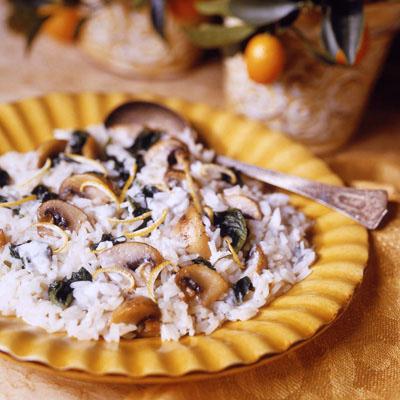 Gorgonzola Lemon Rice: Main Image