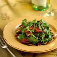 Wild Rice, Arugula, Grapefruit, and Toasted Pecans: Main Image