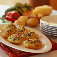 Potatoes Florentine: Main Image