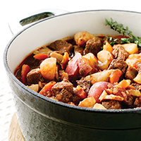 Beef Stew with Red Wine: Main Image