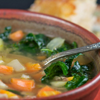 Winter Vegetable Soup: Main Image