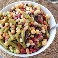 3+3 Bean Salad: Main Image