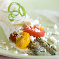 Greek-Inspired Spring Omelet: Main Image